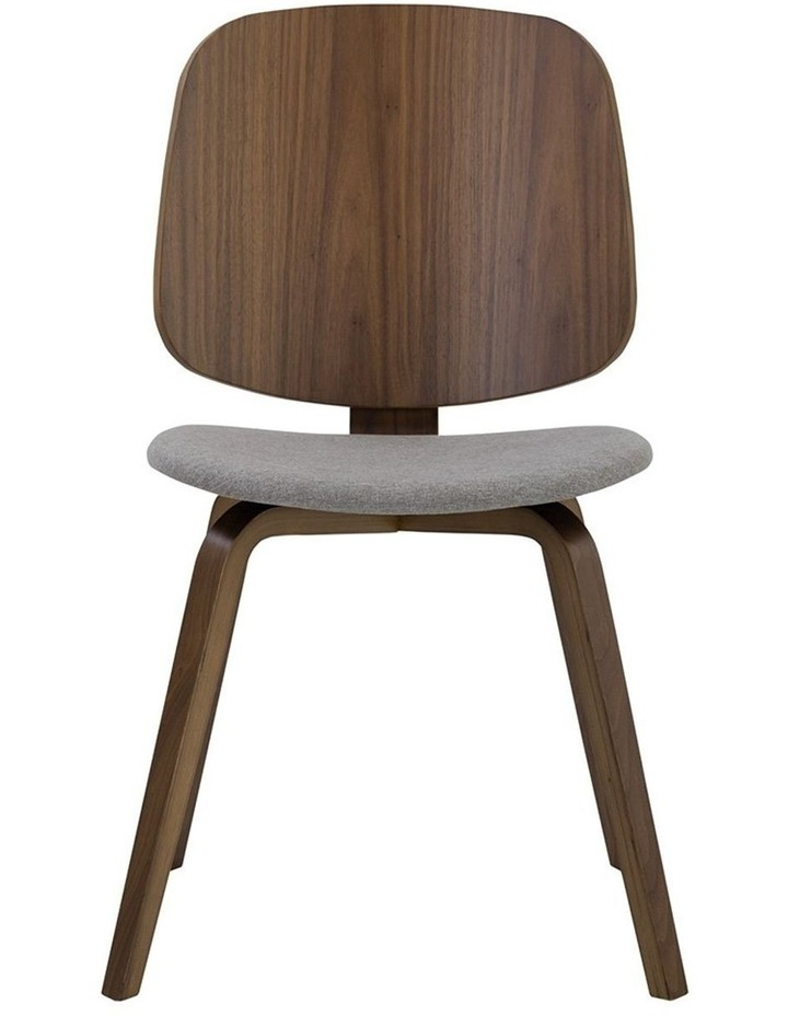 Avarie Dining Chair -  Grey & Cocoa image 3