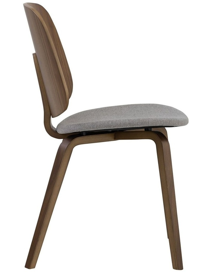Avarie Dining Chair -  Grey & Cocoa image 4