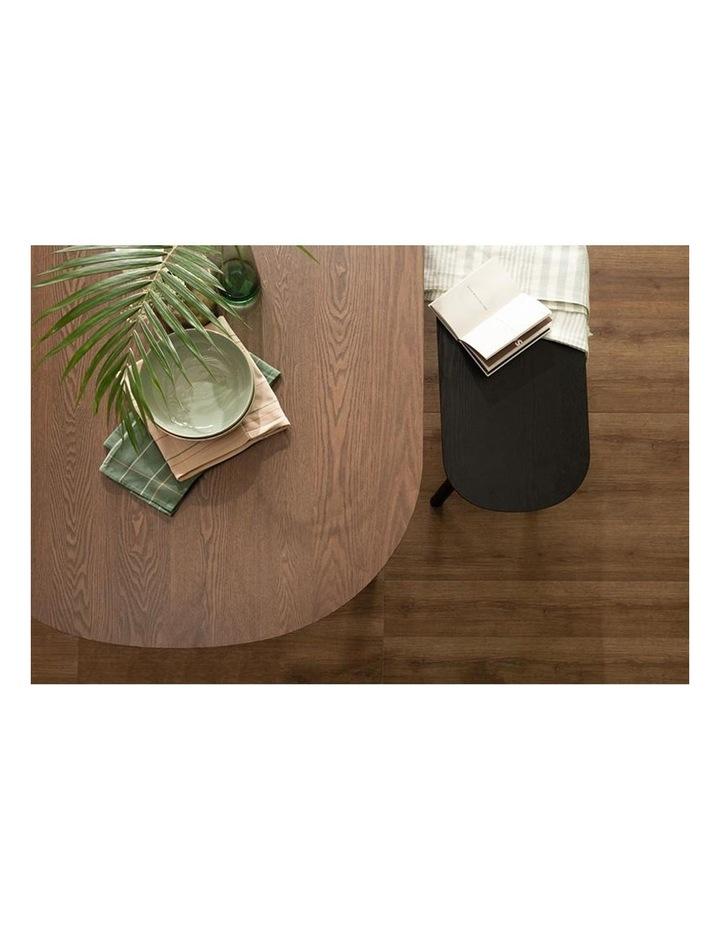 Harold Dining Table 160cm - Black & Walnut image 4