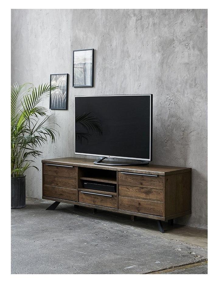 Arno Entertainment TV Unit 170cm - Brown & Black image 2