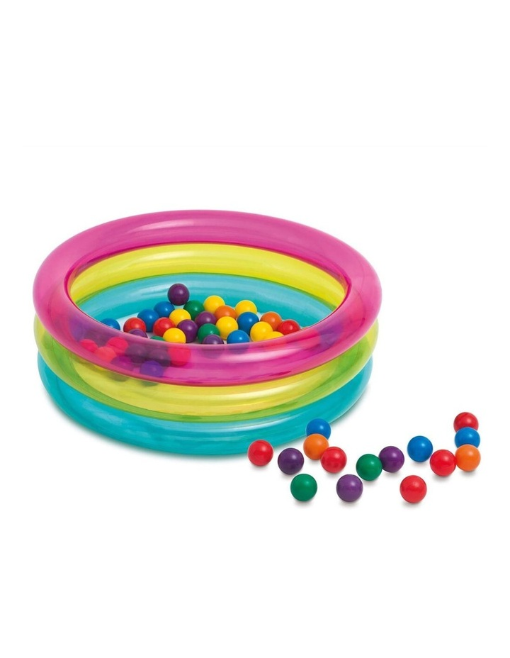 Classic 3-Ring Baby Ball Pit image 1