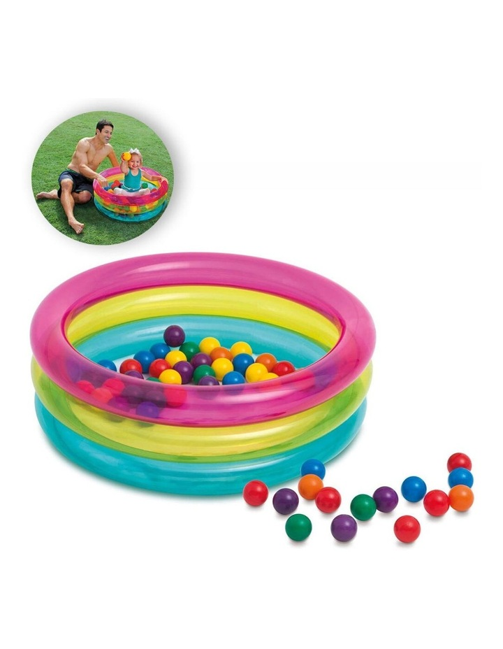Classic 3-Ring Baby Ball Pit image 2
