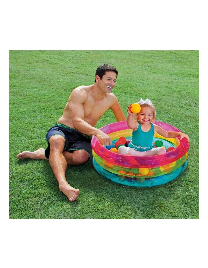 Classic 3-Ring Baby Ball Pit image 3