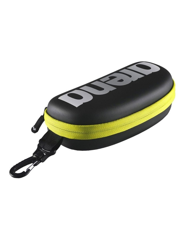 2 Pack Case for Swim Training Goggle - Black/Fluro Yellow image 1