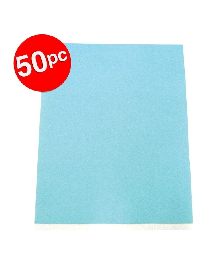 50PK Colourful Days A3 Colour Board Sheets 200gsm Light Blue image 2