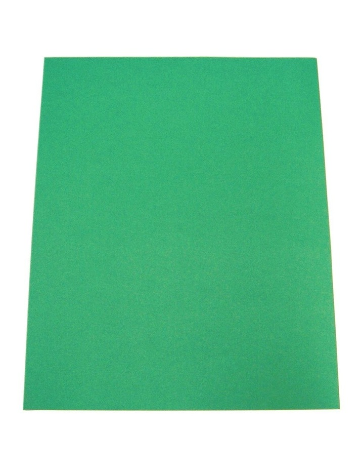 100pc ColourfulDays A4 Colour Board 160gsm Emerald Green Sheets image 1