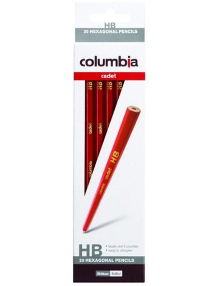 2x 20pc HB Hexagonal Pencils image 1