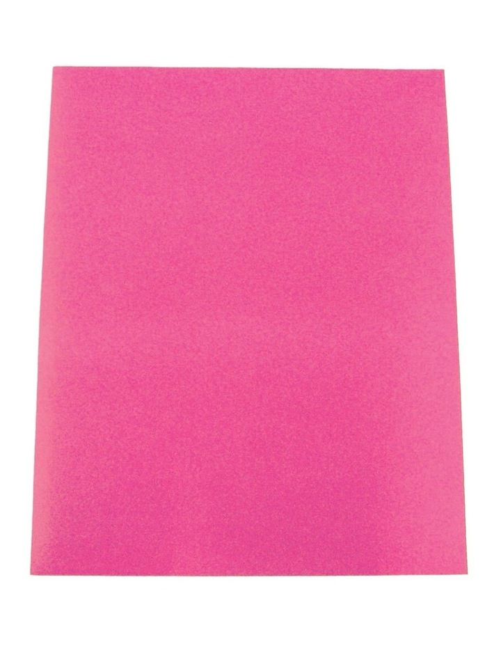 100pc ColourfulDays A4 Colour Board 160gsm Hot Pink Sheets image 1