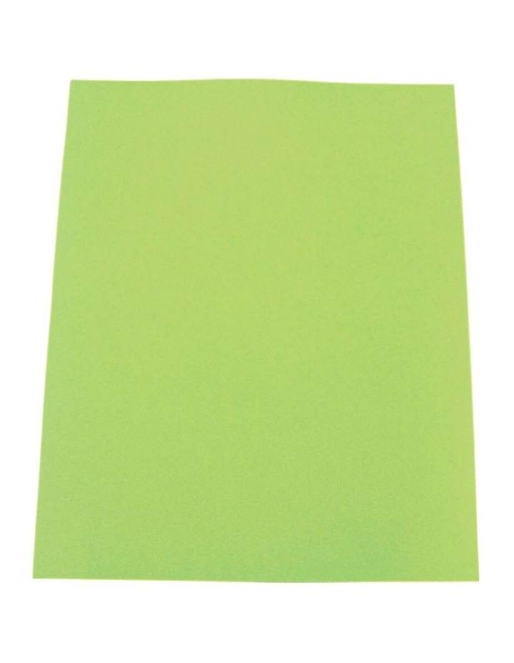 50PK Colourful Days A3 Colour Board Sheets 200gsm Lime Green image 1