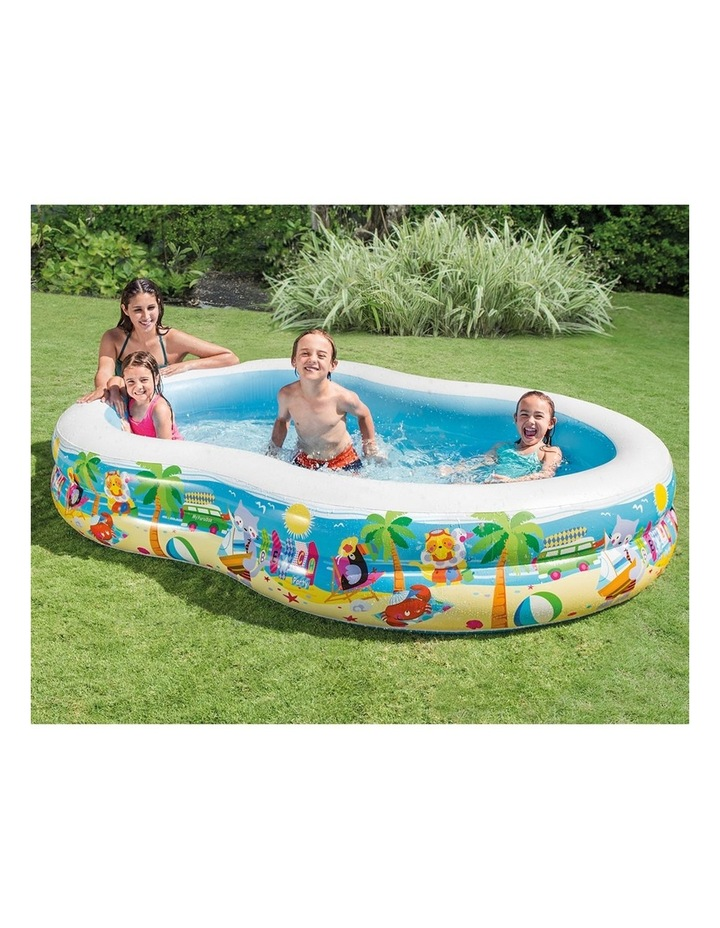 262cm Inflatable Swim Center Seashore Kids Pool image 2