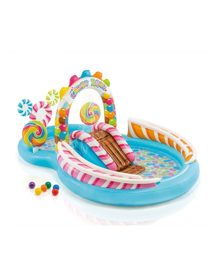 295cm Inflatable Candy Zone Play Center Kids Pool image 1