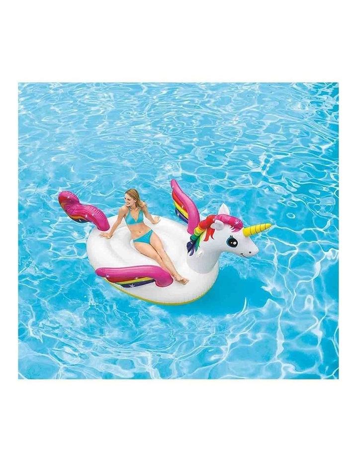 251cm Mega Unicorn Island Inflatable Toy Ride-on image 2
