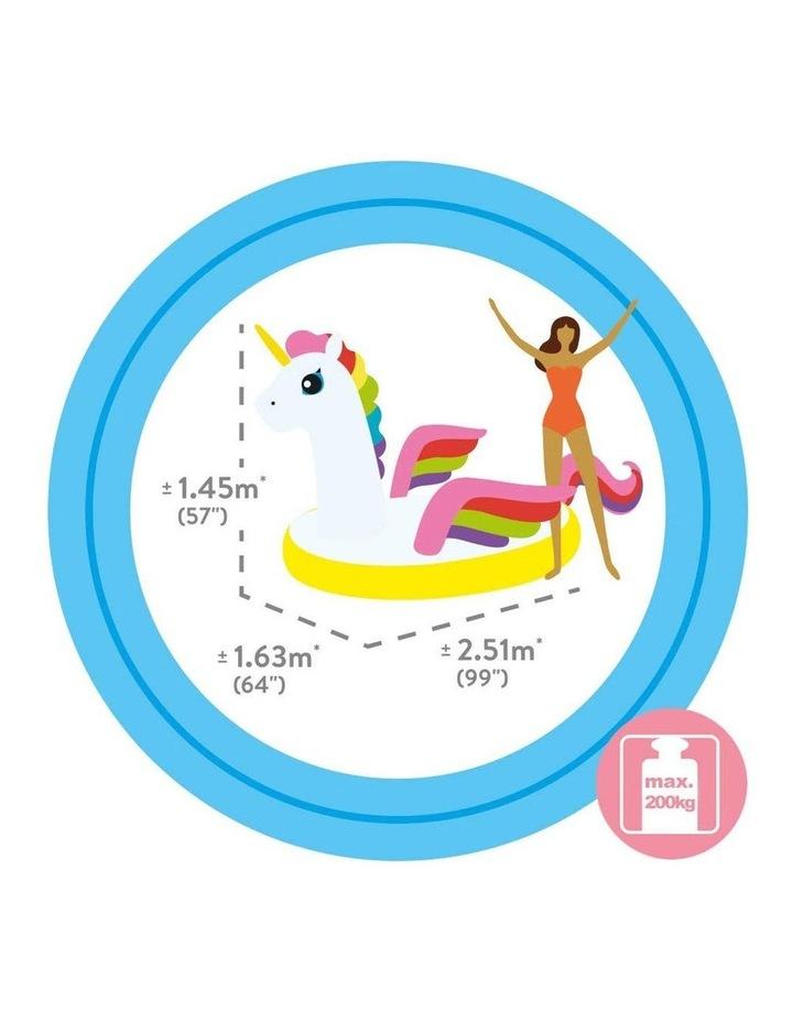 251cm Mega Unicorn Island Inflatable Toy Ride-on image 3