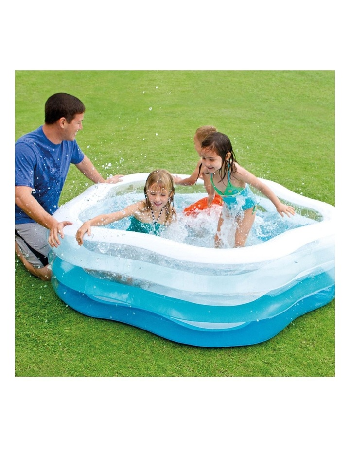 185cm Inflatable Summer Colour Kids Pool image 2