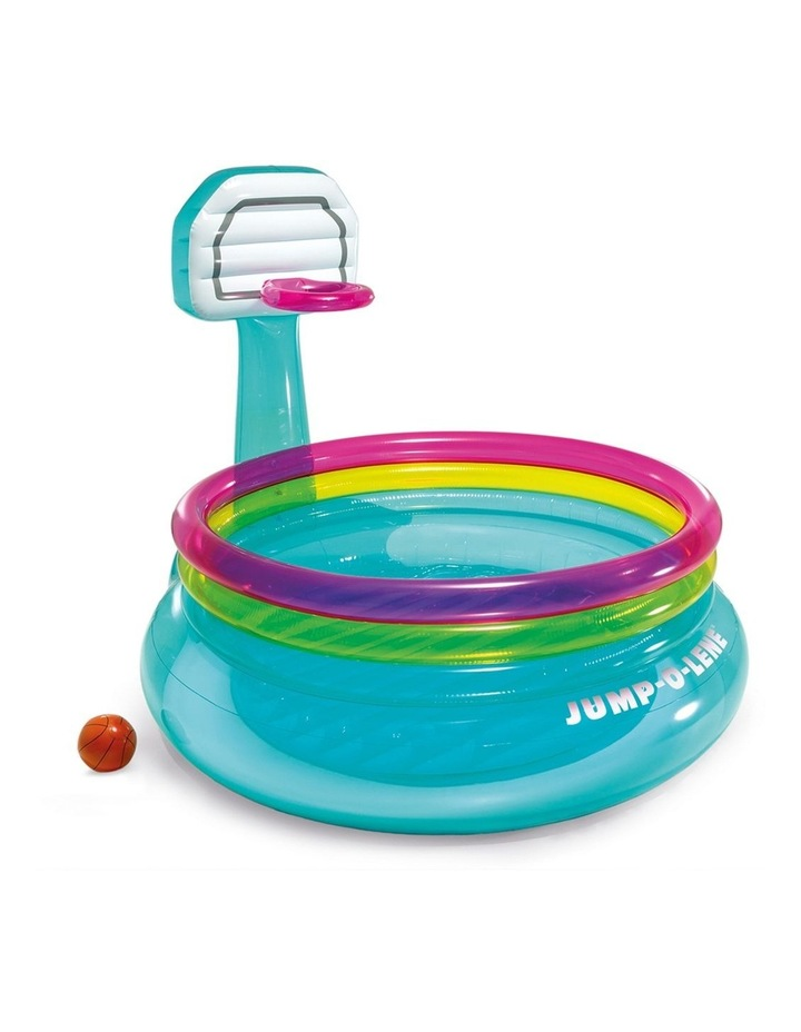 196cm Inflatable Shoot'n Bounce Jump O Lene Kids Toy image 1