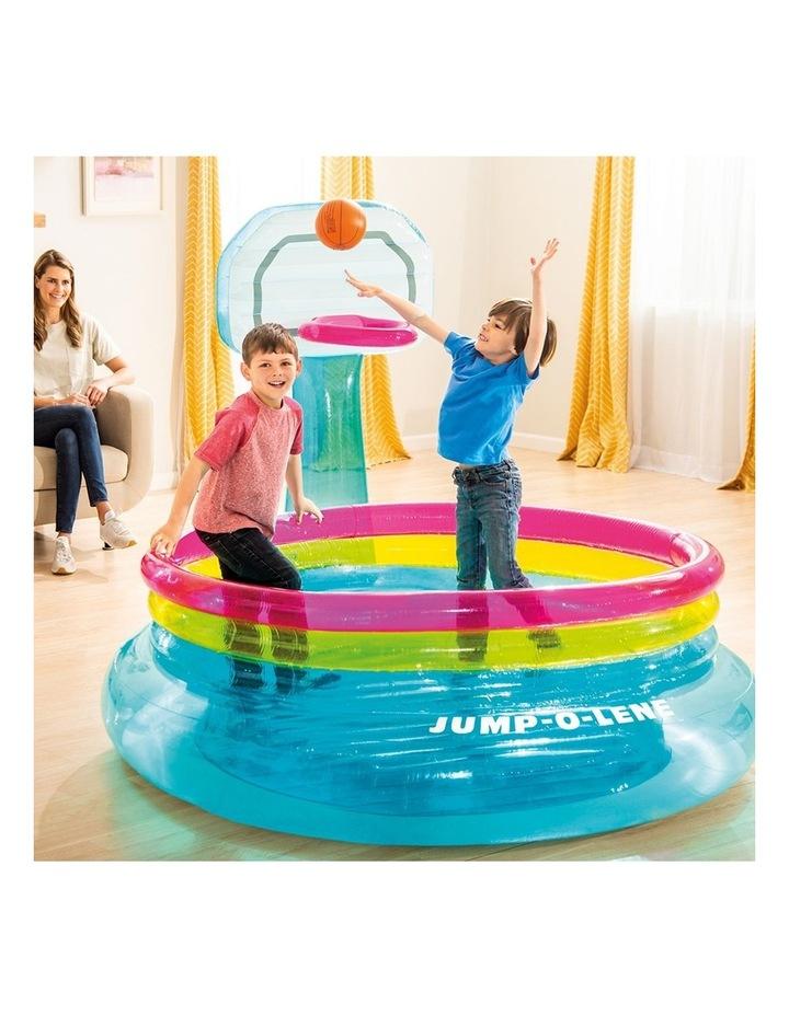 196cm Inflatable Shoot'n Bounce Jump O Lene Kids Toy image 2