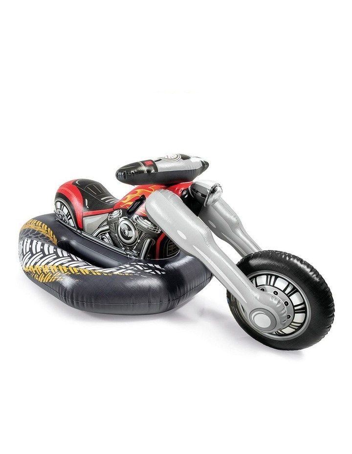 180cm Motorbike Inflatable Ride-On Toy image 1