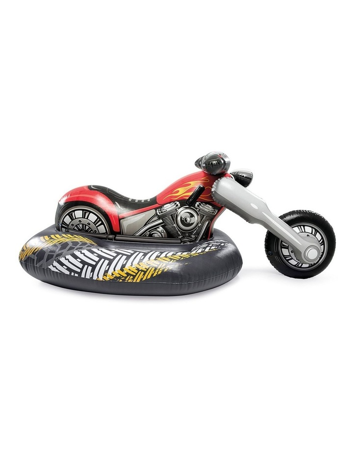 180cm Motorbike Inflatable Ride-On Toy image 2