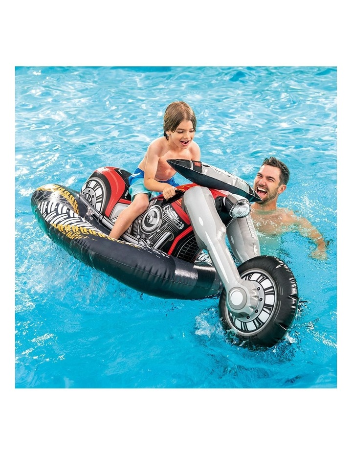 180cm Motorbike Inflatable Ride-On Toy image 3