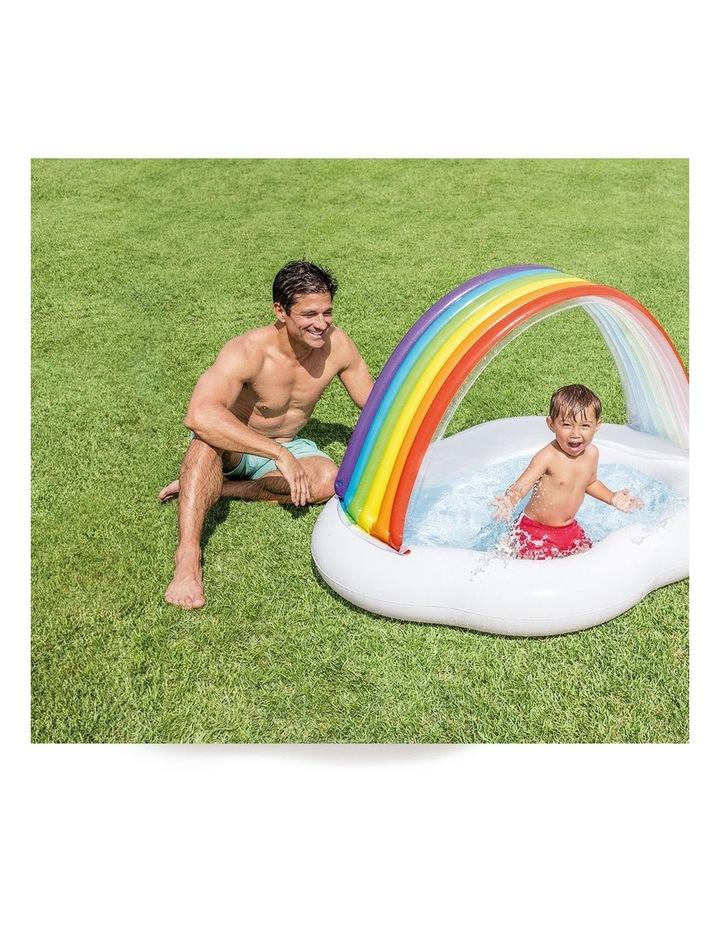 142cm Rainbow Cloud Baby/Kids Inflatable Pool image 2