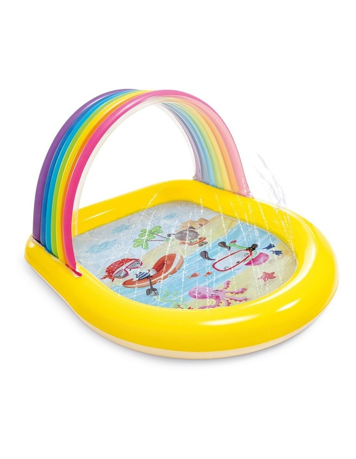147cm Rainbow Arch Spray Kids Pool image 1
