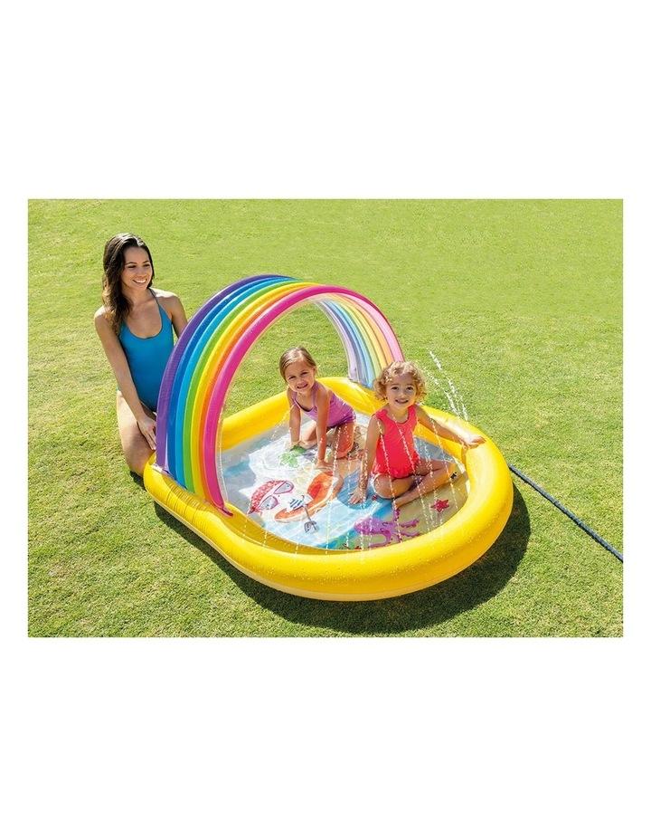 147cm Rainbow Arch Spray Kids Pool image 2