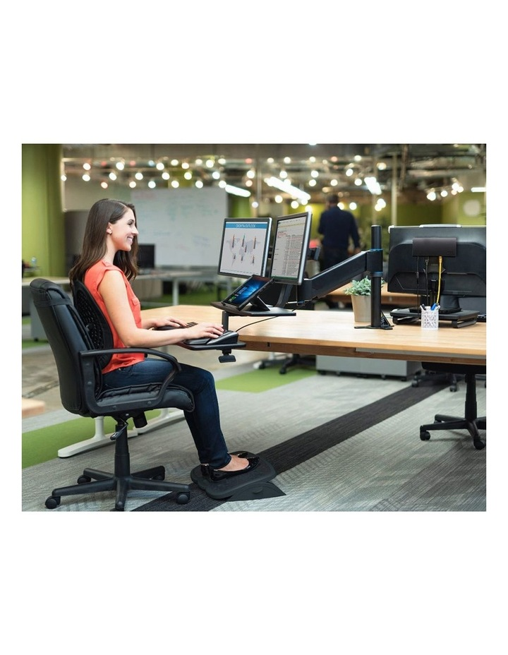 Black SmartFit Solemate Plus Foot Rest image 3