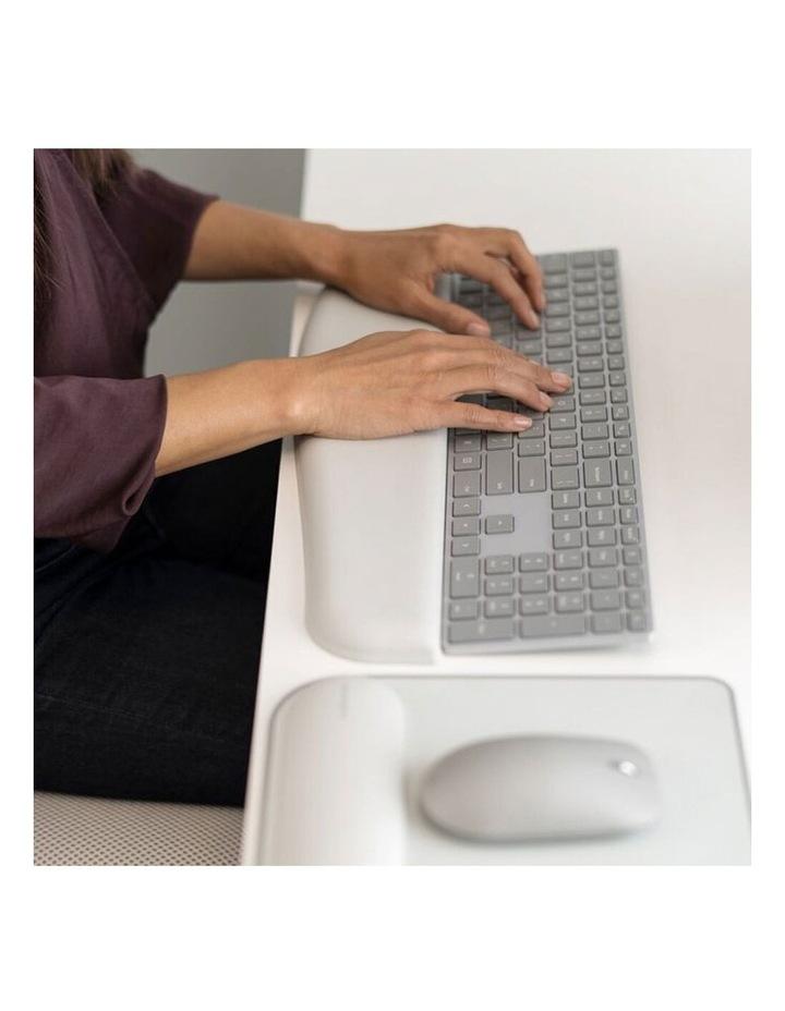 ErgoSoft Wrist Rest for Slim Keyboards - Grey image 7