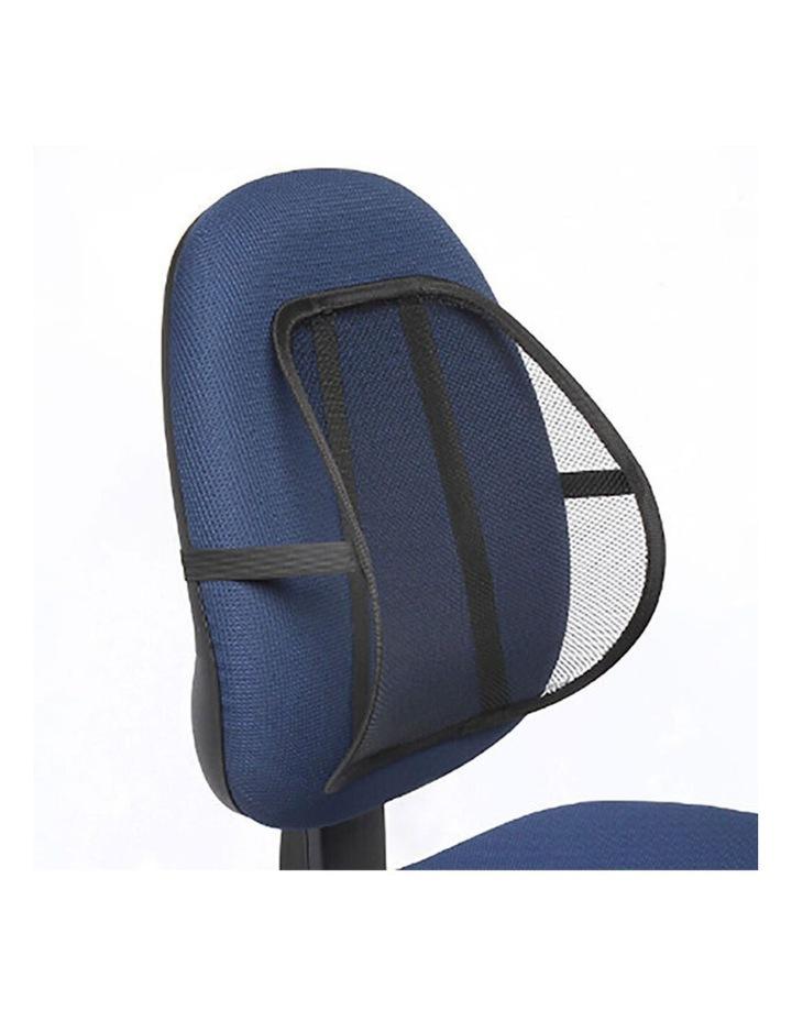 Kensington Back Rest Mesh f/ Back & Spine Support Black image 1
