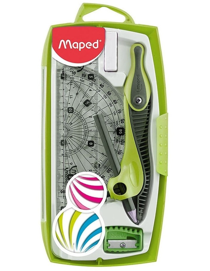 Maped Study Maths Set 8 Piece Measuring Graphics Kit Assorted Colour image 2