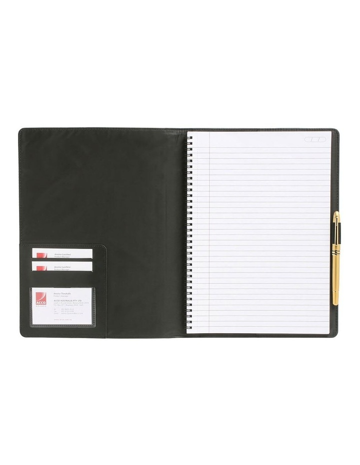 2PK Cambridge Mead A5 Business Notebook 100 Pages Black image 1