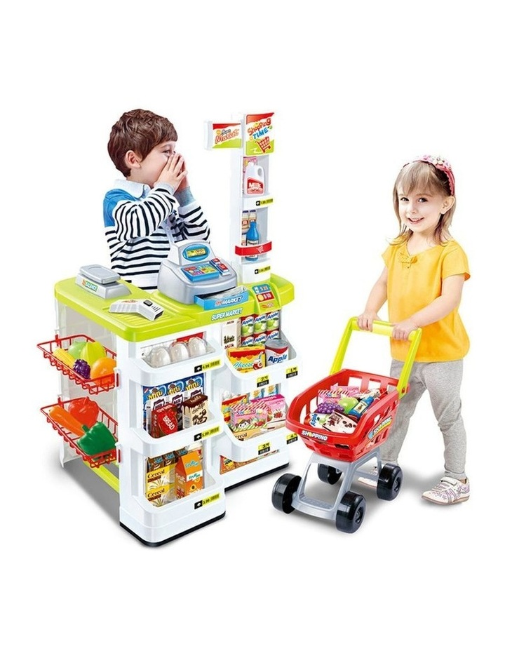 Lenoxx Kids Supermarket Store Food Pretend Play image 1