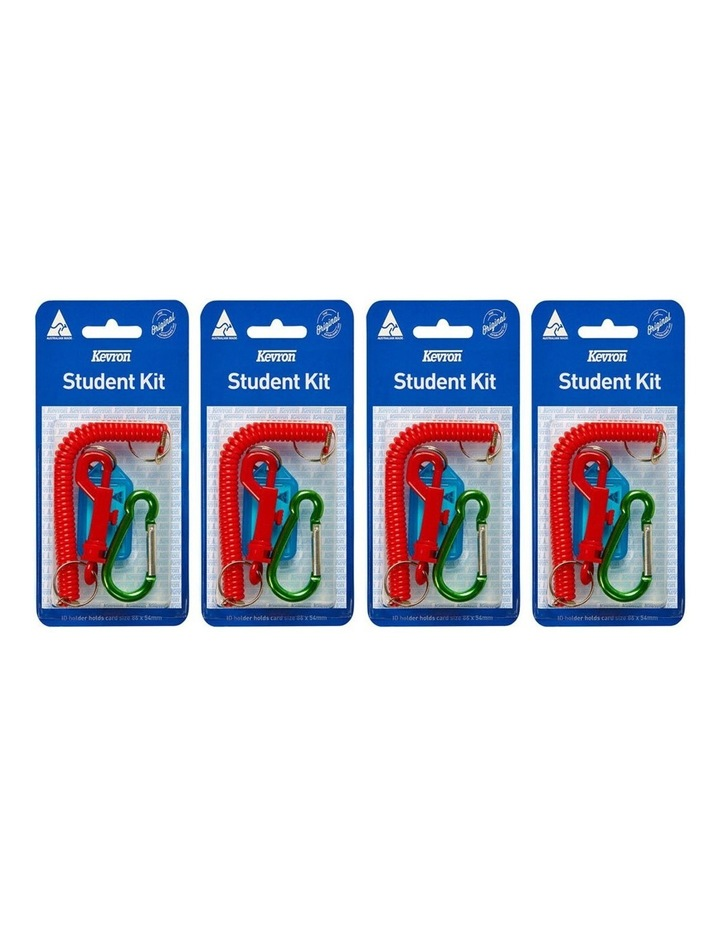 2x 4pc Kevron Card Holder Student Kit - Assorted Colour image 2
