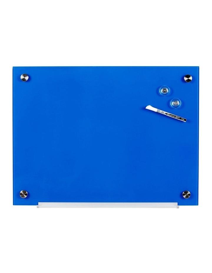 450x600mm Wall Mountable Magnetic Glass Board image 1
