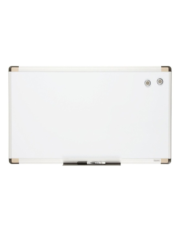 76X45Cm Wall Mountable Magnetic Whiteboard/Aluminium Frame/Picture/Marker/Magnet image 2