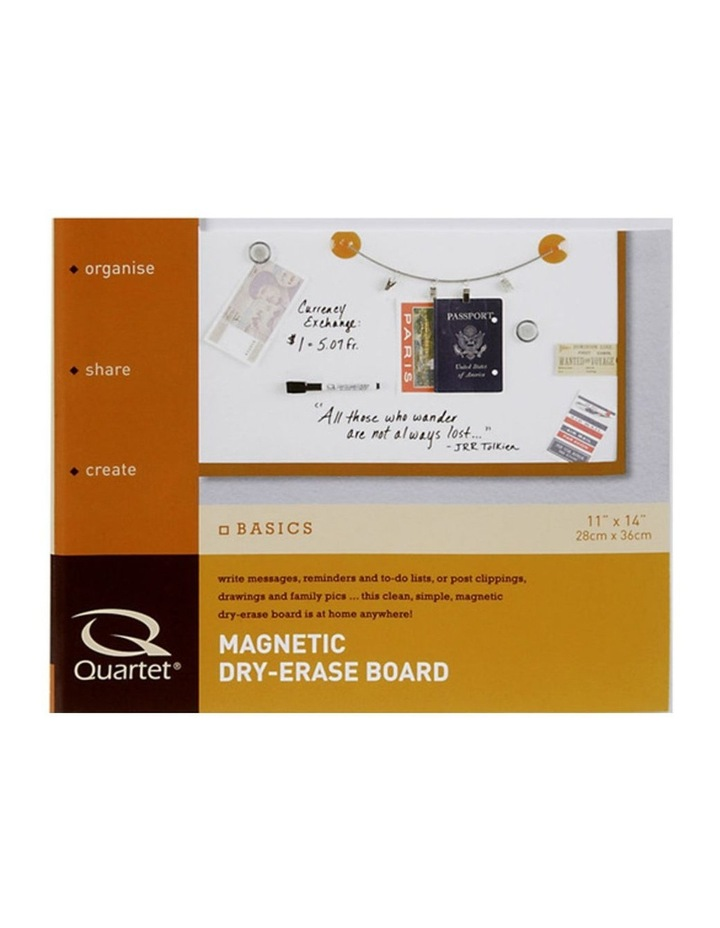 28X36Cm White Wall Mountable Magnetic Whiteboard/Picture Frame W/Marker/Magnet image 3