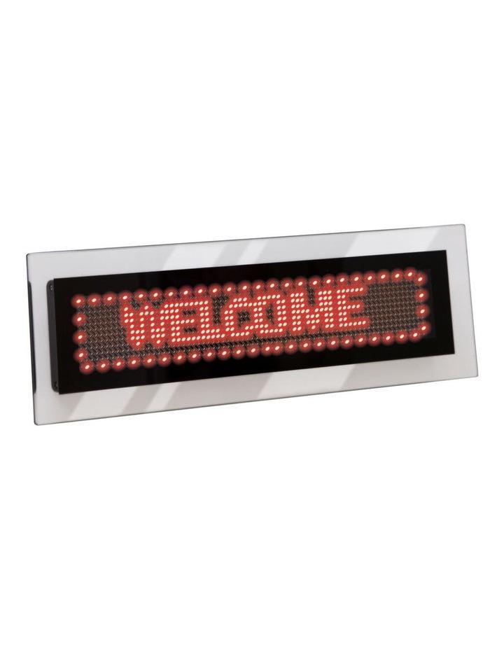 Quartet LED Scrolling Sign Acrylic image 1