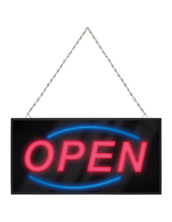 40Cm Led Open Sign/Electric Board/Light/Hanging For Wall/Glass Window/Shop/Cafe image 1