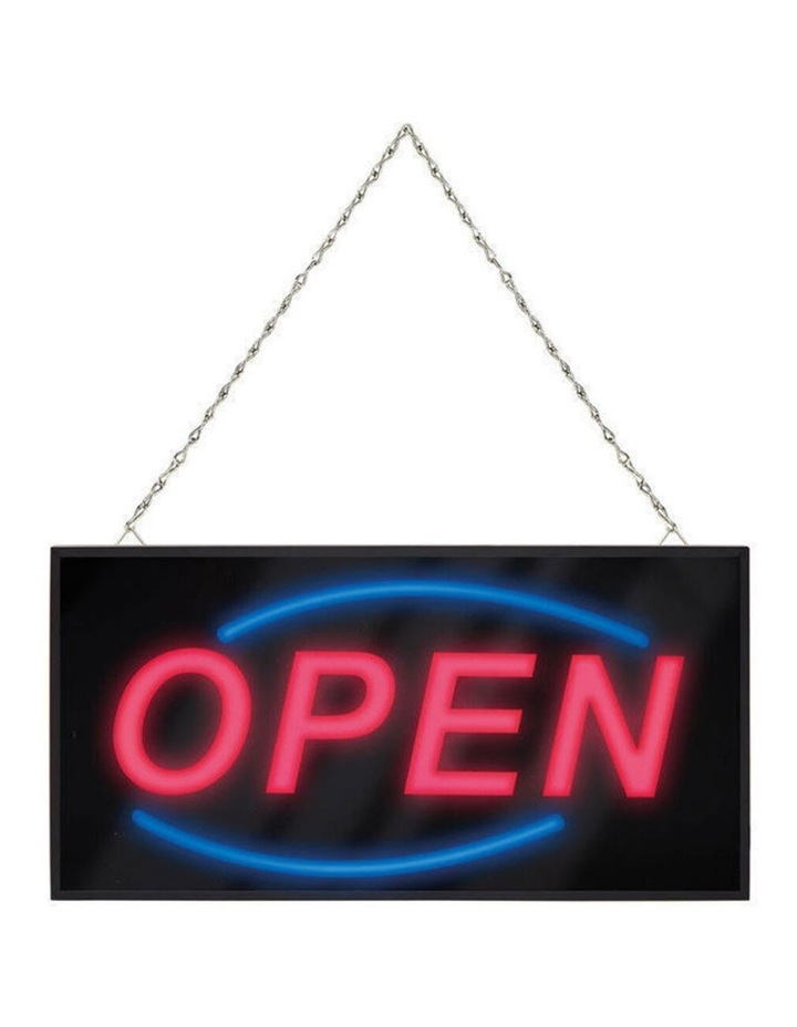 40Cm Led Open Sign/Electric Board/Light/Hanging For Wall/Glass Window/Shop/Cafe image 2
