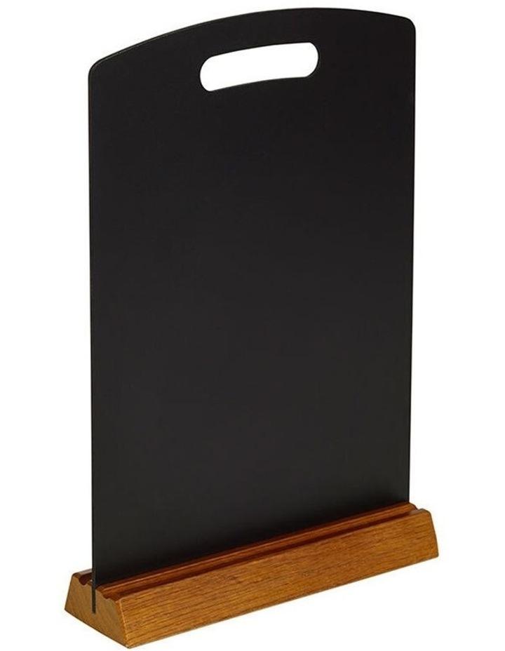 Quartet A4 Menu 30cm Double Sided Chalk Board Restaurant Wedding Table Sign image 1