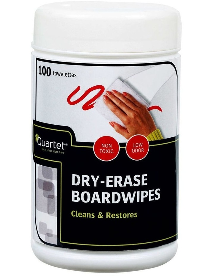 100PK  Dry-Erase Board Wipes image 1
