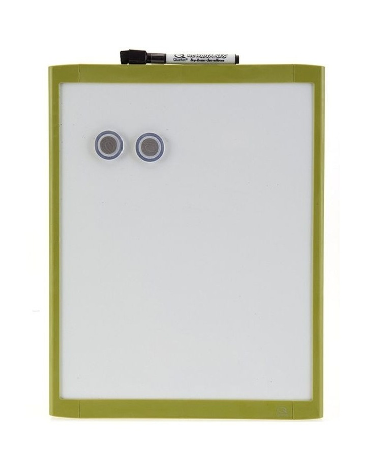 28X36Cm Green Wall Mountable Magnetic Whiteboard/Picture Frame W/Marker/Magnet image 1