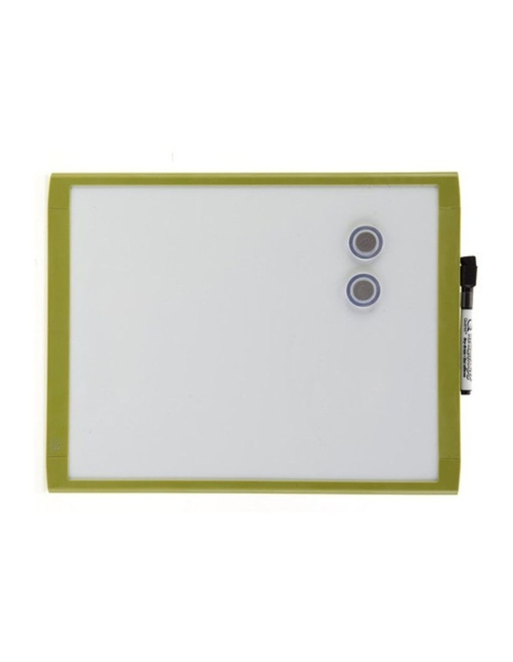 28X36Cm Green Wall Mountable Magnetic Whiteboard/Picture Frame W/Marker/Magnet image 2