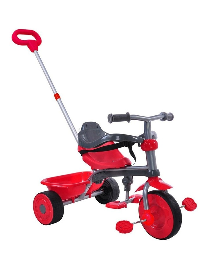 2 In 1 Deluxe Tricycle - Red image 1