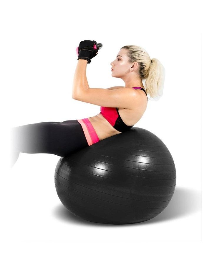 Exercise Fitness Fitball 75cm Black image 2