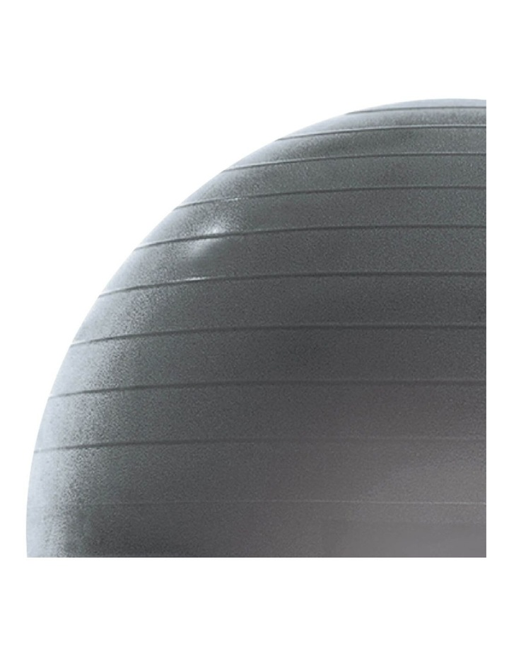Exercise Fitness Ball Fitball 55cm Grey image 2