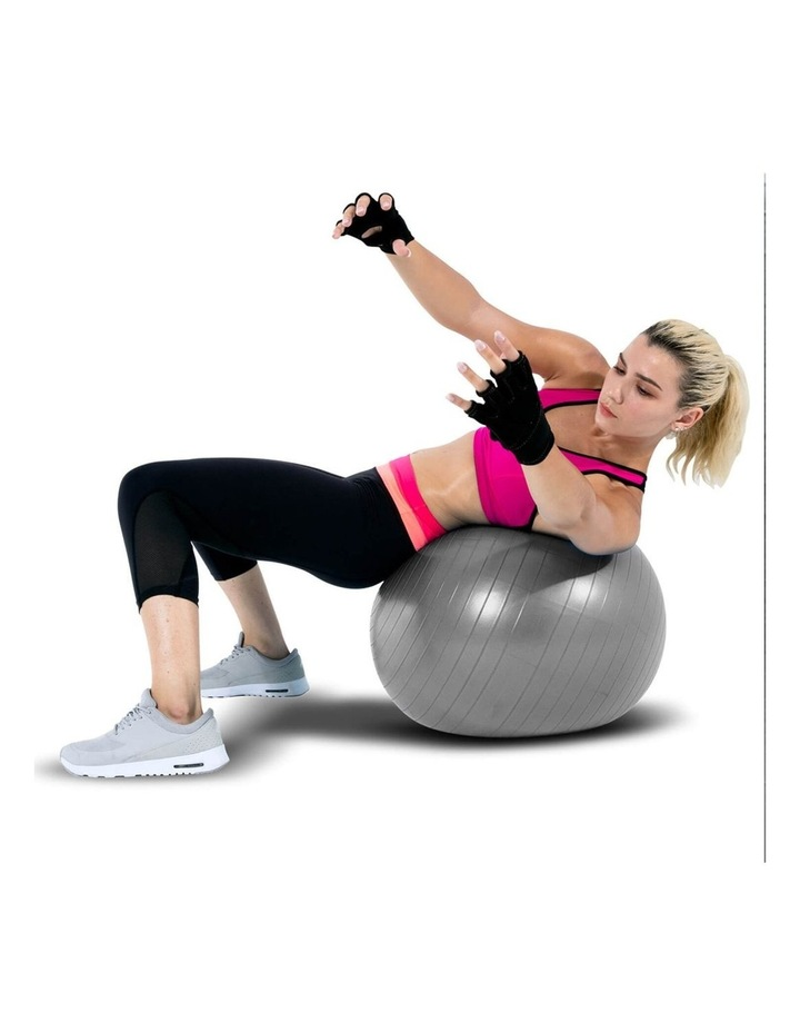 Exercise Fitness Ball Fitball 55cm Grey image 3