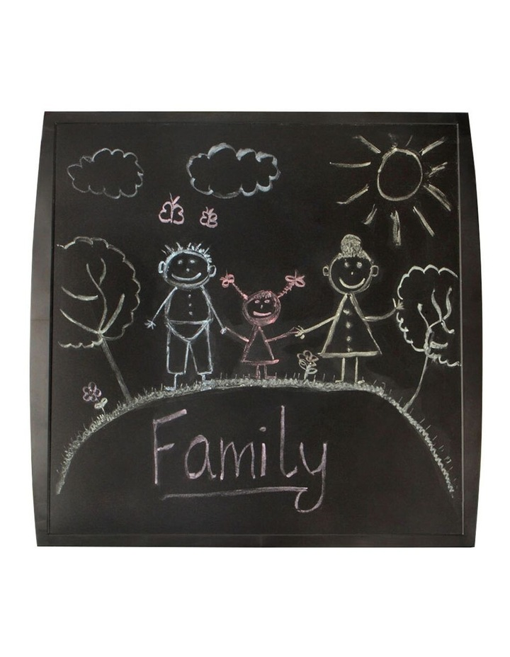 2 Pack Quartet Chalkboard Basic 350x350mm Black image 1
