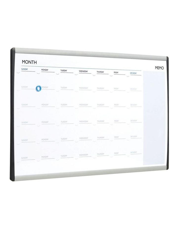 Quartet ARC Cubicle Magnetic Whiteboard Calendar w/ Pen 76x46cm image 2
