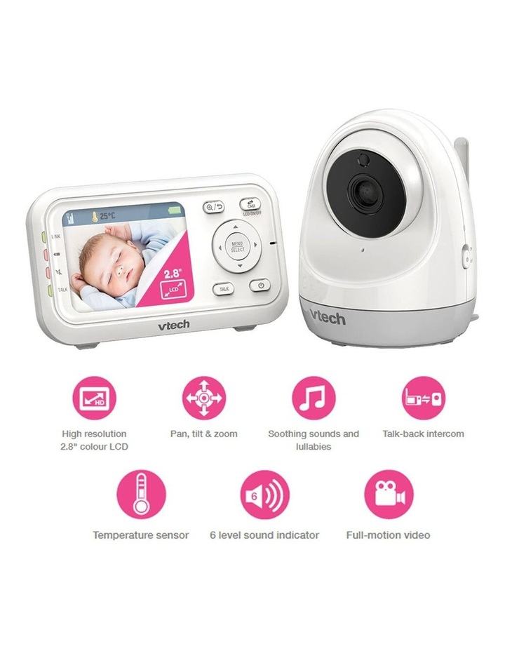 Pan & Tilt Full Colour Video & Audio Baby Monitor image 2